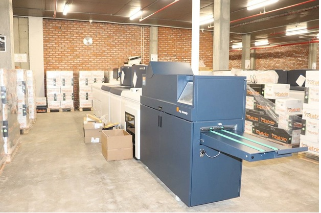 THE NEW STATE-OF-THE-ART PRINTING FACILITIES
